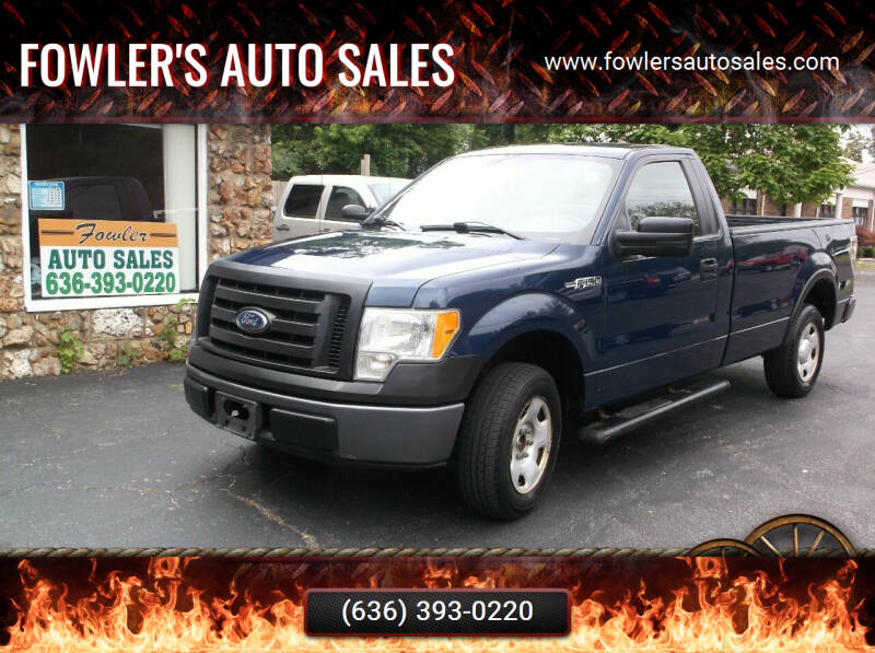 2009 Ford F-150 for sale at Fowler's Auto Sales in Pacific MO