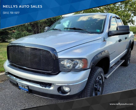 2003 Dodge Ram Pickup 2500 for sale at NELLYS AUTO SALES in Souderton PA