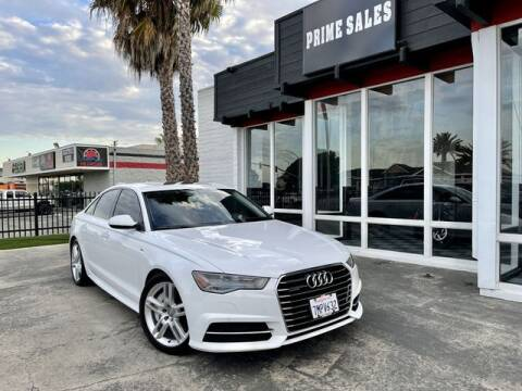 2016 Audi A6 for sale at Prime Sales in Huntington Beach CA