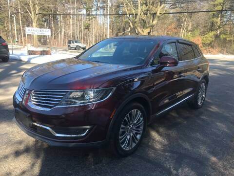 2017 Lincoln MKX for sale at McLaughlin Motorz in North Muskegon MI