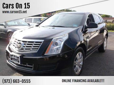 2013 Cadillac SRX for sale at Cars On 15 in Lake Hopatcong NJ