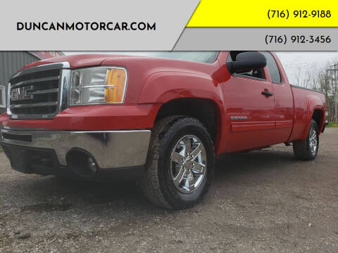 2012 GMC Sierra 1500 for sale at DuncanMotorcar.com in Buffalo NY