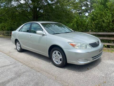 2003 Toyota Camry for sale at Front Porch Motors Inc. in Conyers GA