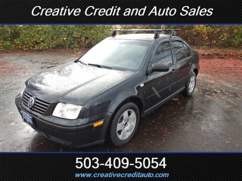 2000 Volkswagen Jetta for sale at Creative Credit & Auto Sales in Salem OR