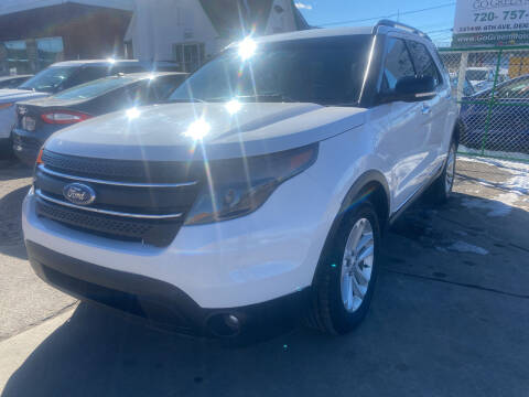 2015 Ford Explorer for sale at GO GREEN MOTORS in Denver CO