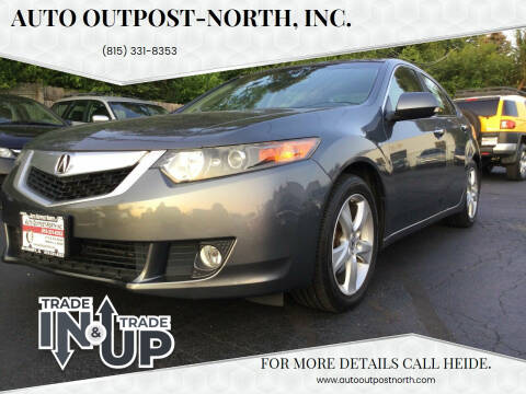 2010 Acura TSX for sale at Auto Outpost-North, Inc. in McHenry IL