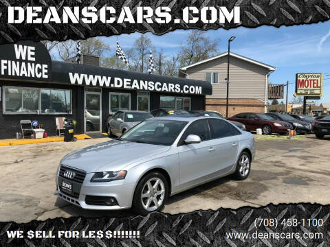 2009 Audi A4 for sale at DEANSCARS.COM in Bridgeview IL