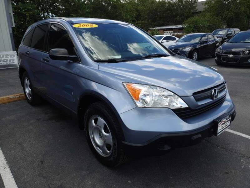 2008 Honda CR-V for sale at Auto Solution in San Antonio TX
