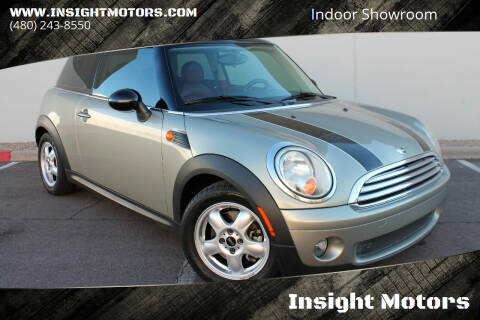2007 MINI Cooper for sale at Insight Motors in Tempe AZ