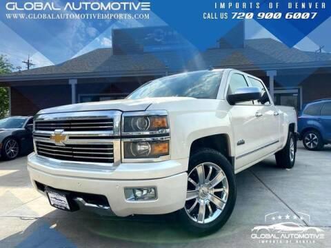 2014 Chevrolet Silverado 1500 for sale at Global Automotive Imports of Denver in Denver CO