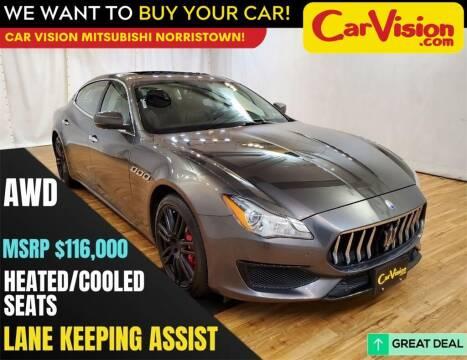 2017 Maserati Quattroporte for sale at Car Vision Mitsubishi Norristown in Norristown PA