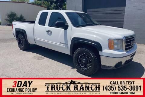 2013 GMC Sierra 1500 for sale at Truck Ranch in Logan UT