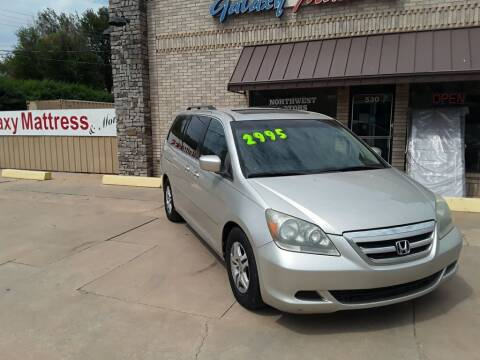 2005 Honda Odyssey for sale at NORTHWEST MOTORS in Enid OK