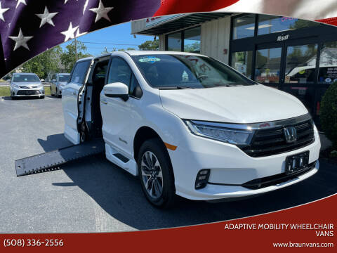 2022 Honda Odyssey for sale at Adaptive Mobility Wheelchair Vans in Seekonk MA