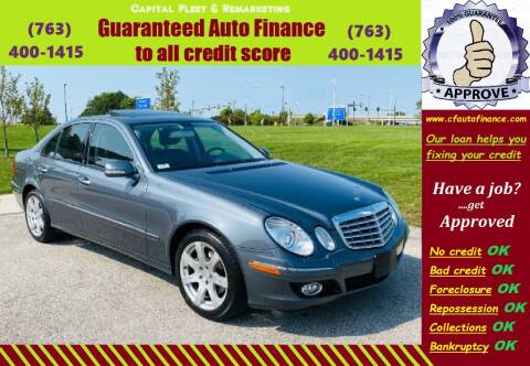 2007 Mercedes-Benz E-Class for sale at Capital Fleet  & Remarketing  Auto Finance in Columbia Heights MN