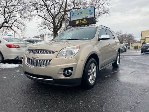 2012 Chevrolet Equinox for sale at All Star Auto Sales and Service LLC in Allentown PA