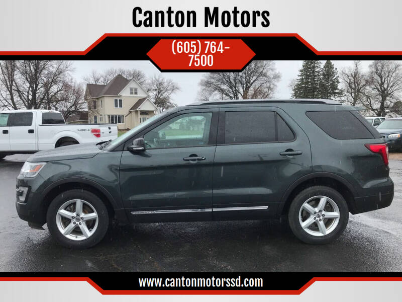 2016 Ford Explorer for sale at Canton Motors in Canton SD