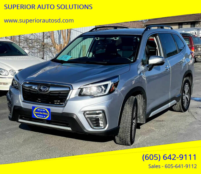2019 Subaru Forester for sale at SUPERIOR AUTO SOLUTIONS in Spearfish SD