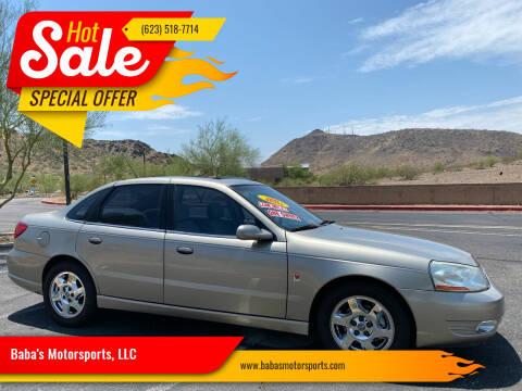 2003 Saturn L-Series for sale at Baba's Motorsports, LLC in Phoenix AZ