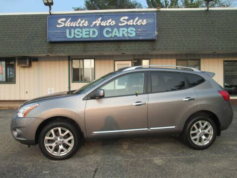 2012 Nissan Rogue for sale at SHULTS AUTO SALES INC. in Crystal Lake IL