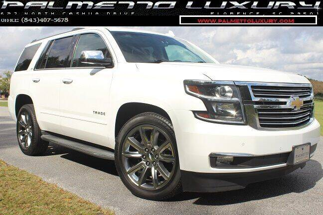 2015 Chevrolet Tahoe for sale at Palmetto Luxury Cars in Florence SC