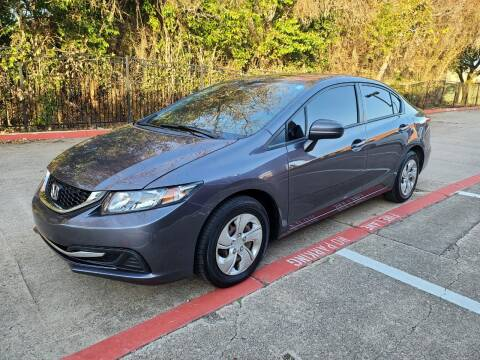 2014 Honda Civic for sale at DFW Autohaus in Dallas TX