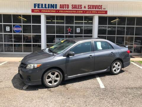 2011 Toyota Corolla for sale at Fellini Auto Sales & Service LLC in Pittsburgh PA