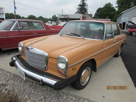 1975 Mercedes-Benz 240-Class for sale at Whitmore Motors in Ashland OH