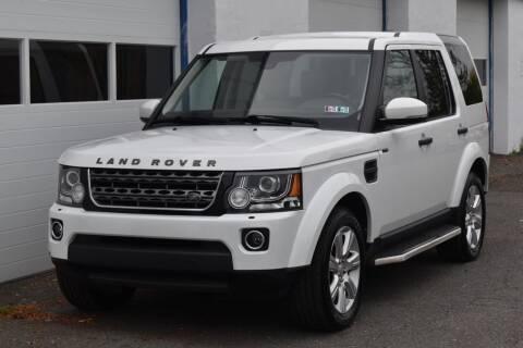 2016 Land Rover LR4 for sale at IdealCarsUSA.com in East Windsor NJ