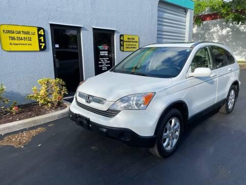 2008 Honda CR-V for sale at FLORIDA CAR TRADE LLC in Davie FL