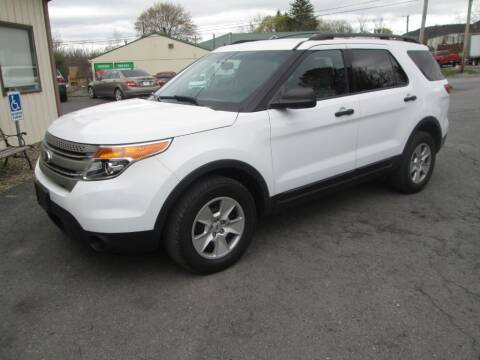 2014 Ford Explorer for sale at WORKMAN AUTO INC in Pleasant Gap PA