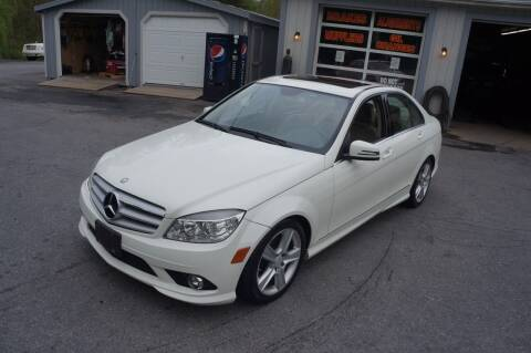2010 Mercedes-Benz C-Class for sale at Autos By Joseph Inc in Highland NY