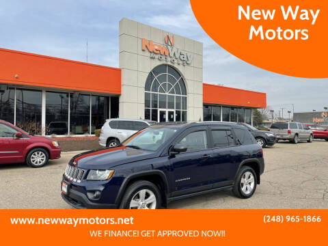 2016 Jeep Compass for sale at New Way Motors in Ferndale MI