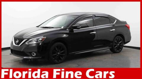 2017 Nissan Sentra for sale at Florida Fine Cars - West Palm Beach in West Palm Beach FL
