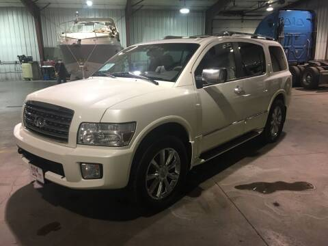 2010 Infiniti QX56 for sale at More 4 Less Auto in Sioux Falls SD