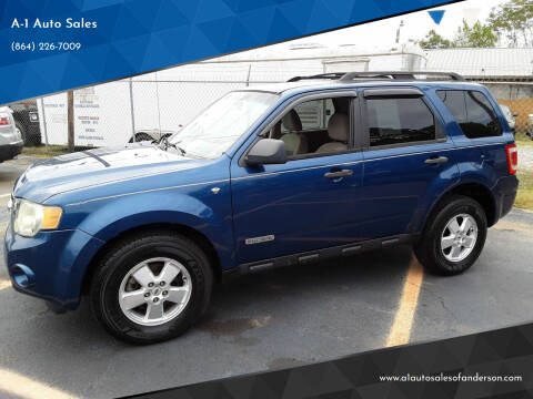 2008 Ford Escape for sale at A-1 Auto Sales in Anderson SC