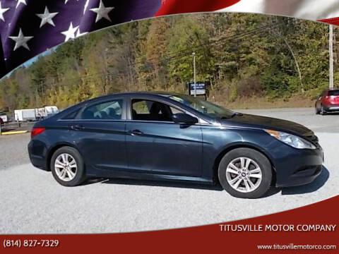 2014 Hyundai Sonata for sale at Titusville Motor Company in Titusville PA