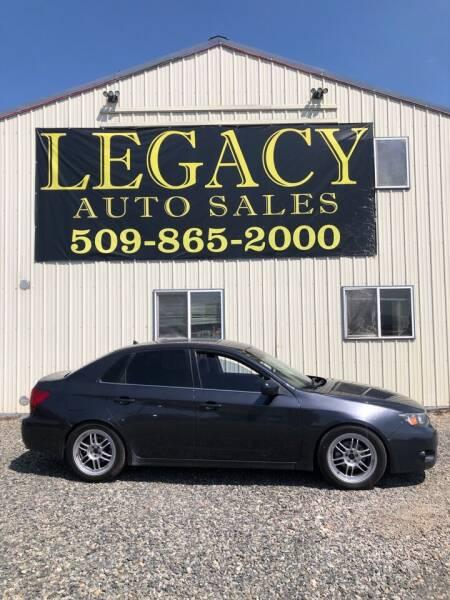 2009 Subaru Impreza for sale at Legacy Auto Sales in Toppenish WA