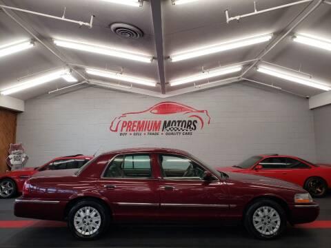 2004 Mercury Grand Marquis for sale at Premium Motors in Villa Park IL