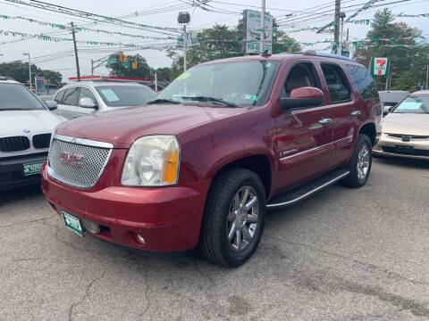 2007 GMC Yukon for sale at Park Avenue Auto Lot Inc in Linden NJ