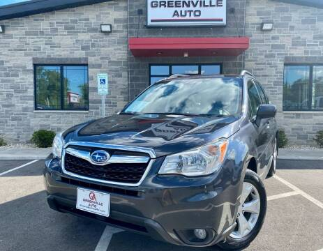 2016 Subaru Forester for sale at GREENVILLE AUTO in Greenville WI