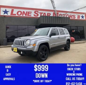 2014 Jeep Patriot for sale at LONE STAR MOTORS II in Fort Worth TX