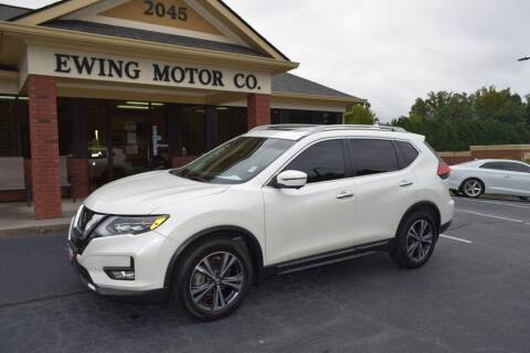 2017 Nissan Rogue for sale at Ewing Motor Company in Buford GA