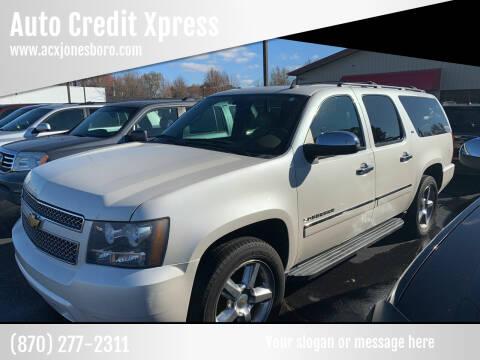 2012 Chevrolet Suburban for sale at Auto Credit Xpress - Jonesboro in Jonesboro AR