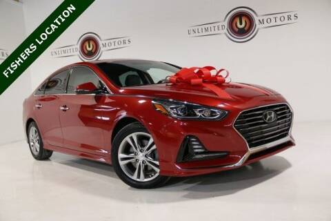 2018 Hyundai Sonata for sale at Unlimited Motors in Fishers IN