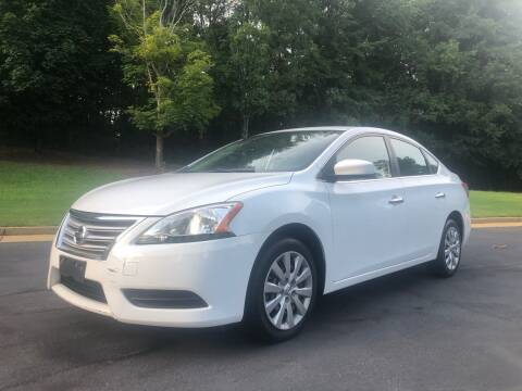 2015 Nissan Sentra for sale at Top Notch Luxury Motors in Decatur GA