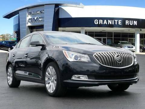 2014 Buick LaCrosse for sale at GRANITE RUN PRE OWNED CAR AND TRUCK OUTLET in Media PA