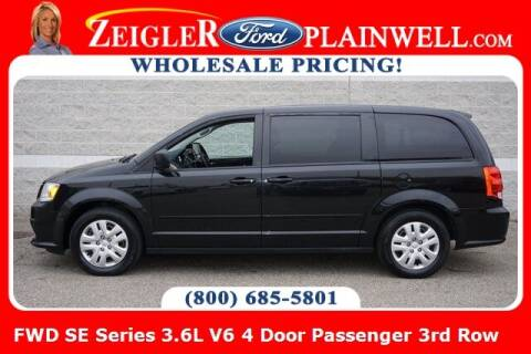 2017 Dodge Grand Caravan for sale at Zeigler Ford of Plainwell- michael davis in Plainwell MI