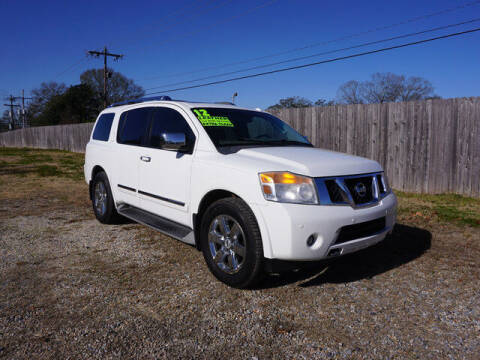 2012 Nissan Armada for sale at BLUE RIBBON MOTORS in Baton Rouge LA
