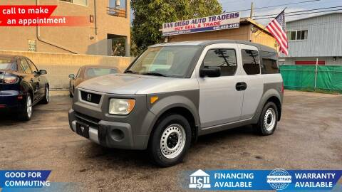 2004 Honda Element for sale at San Diego Auto Traders in San Diego CA